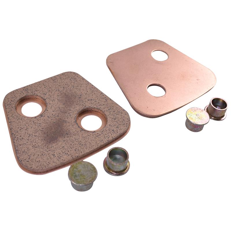 Ferodouri disc ambreaj 4mm 77x69  (/set de 12 bucati cu nituri) D1010 U-1010