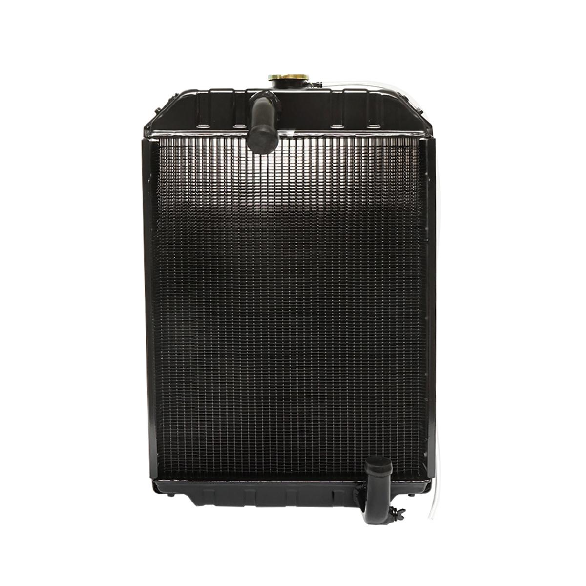 Radiator racire apa U-650 (aluminiu cu 4 randuri late de celule) 590x455x65
