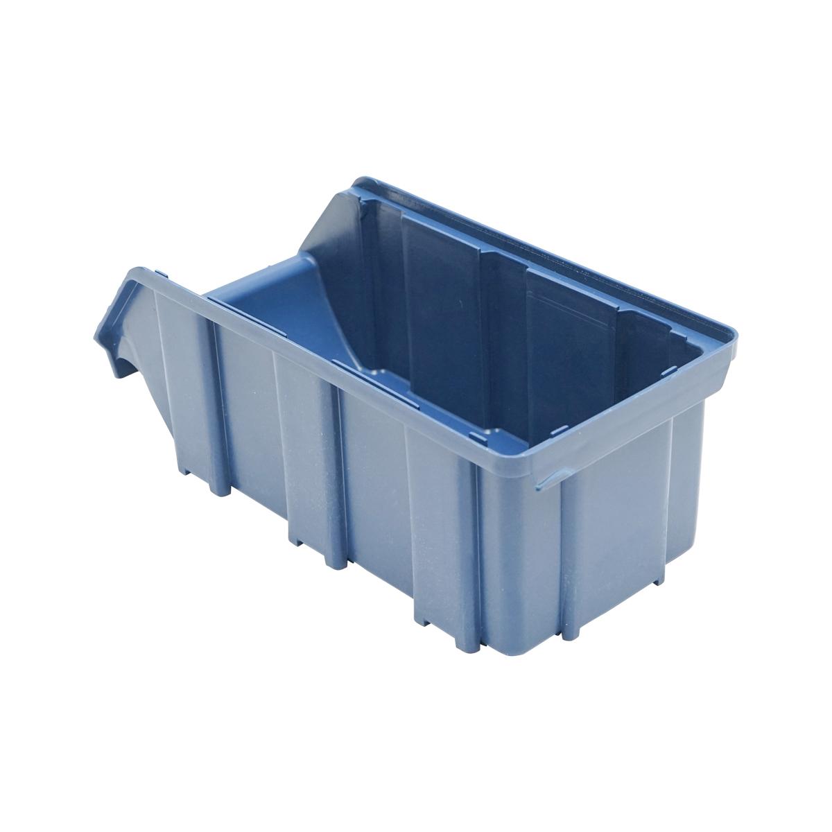 Cutie plastic depozitare 103x230x95mm albastra