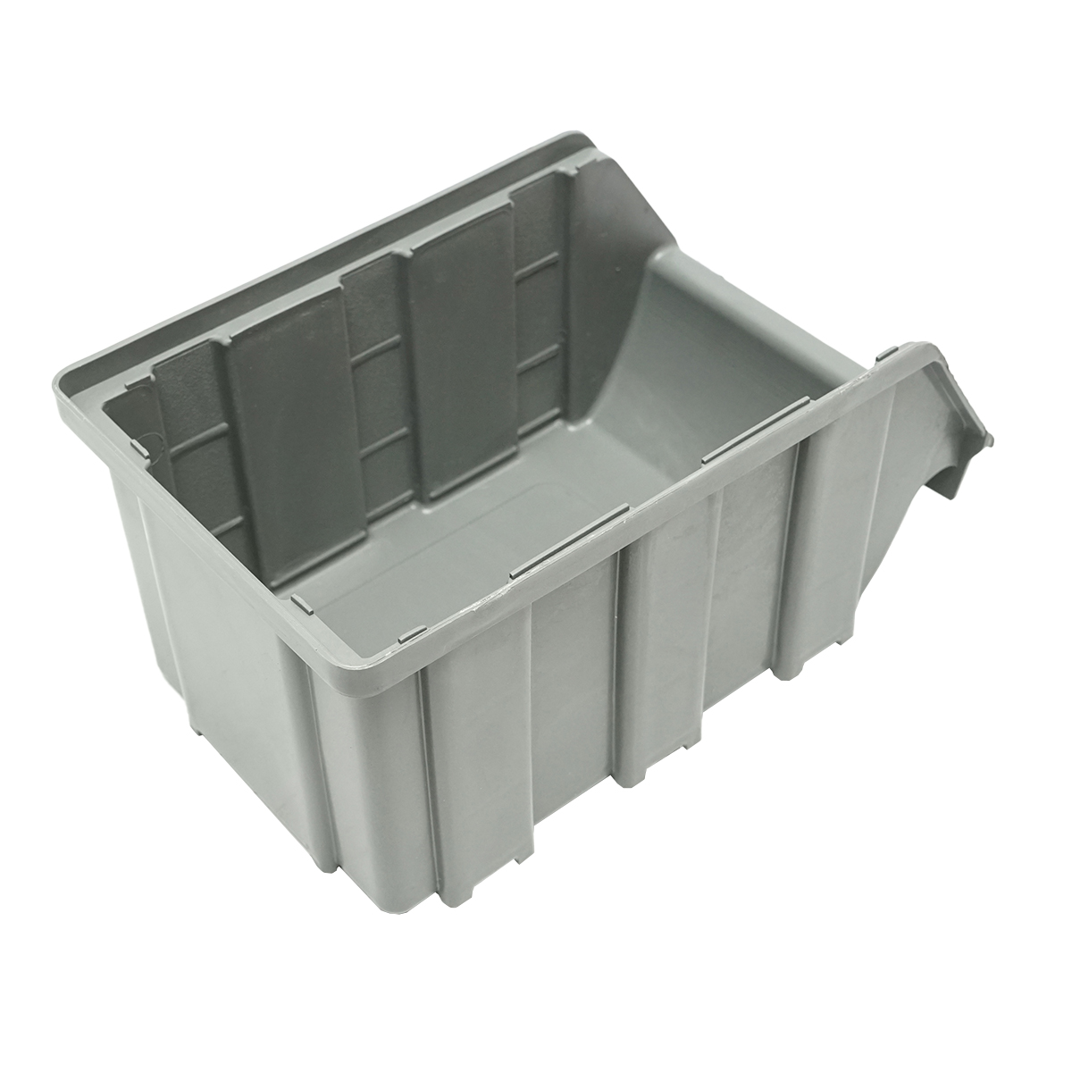Cutie plastic depozitare 130x215x120mm gri