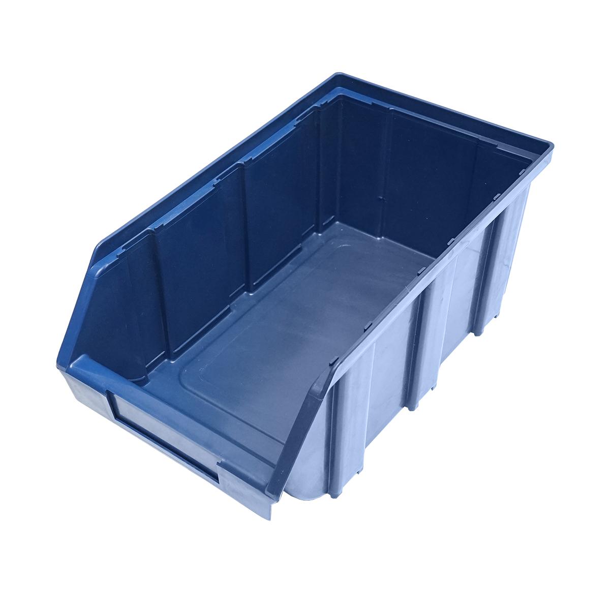 Cutie plastic depozitare 155x274x125mm albastra