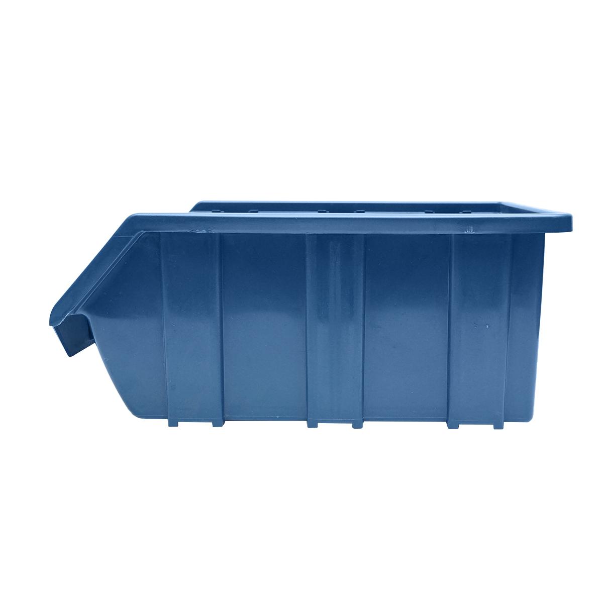 Cutie plastic depozitare 175x317x148mm albastra