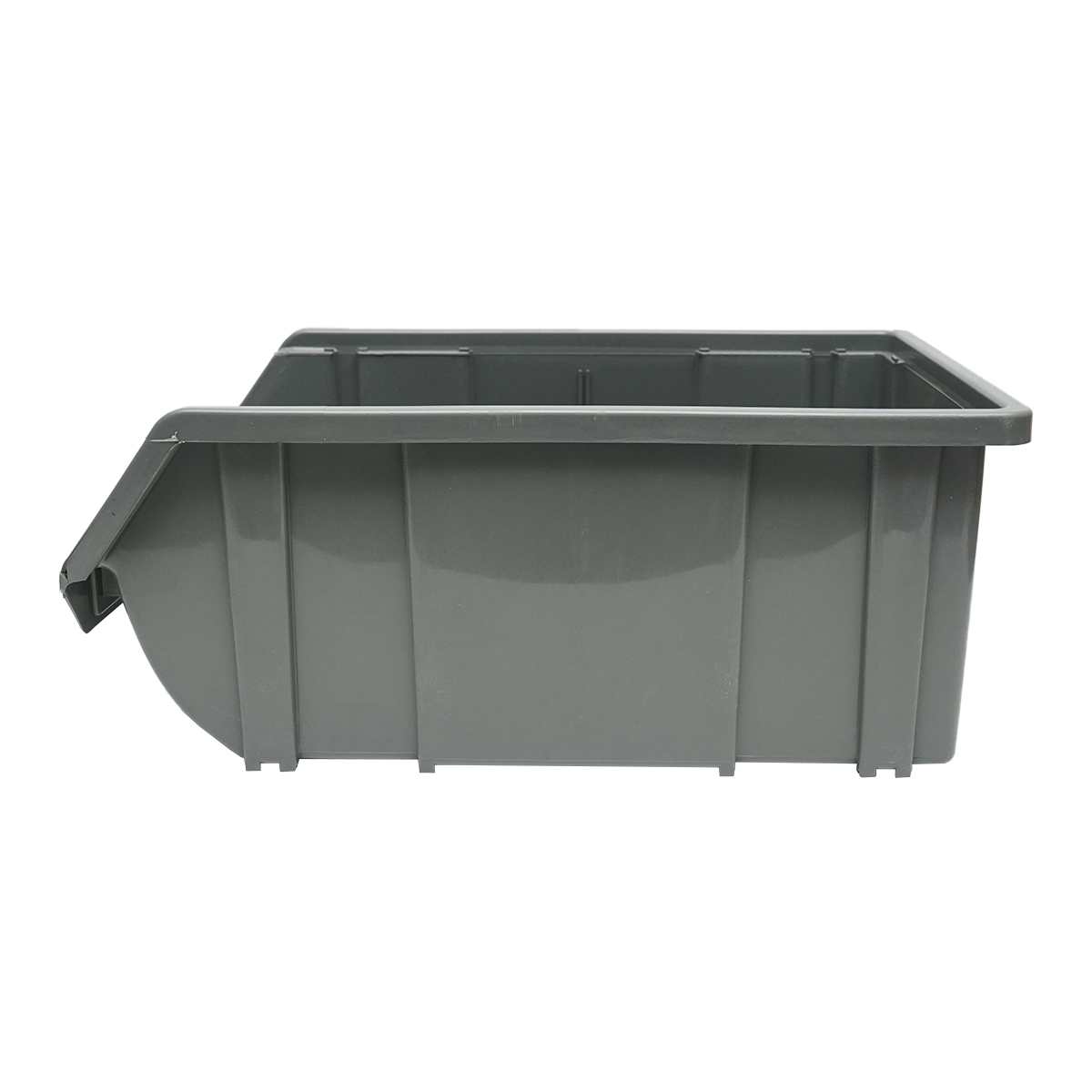 Cutie plastic depozitare 226x390x167mm gri