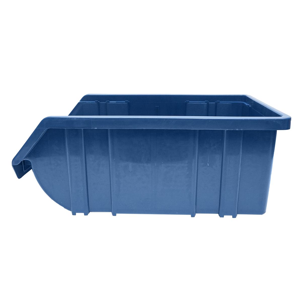 Cutie plastic depozitare 310x490x190mm albastra