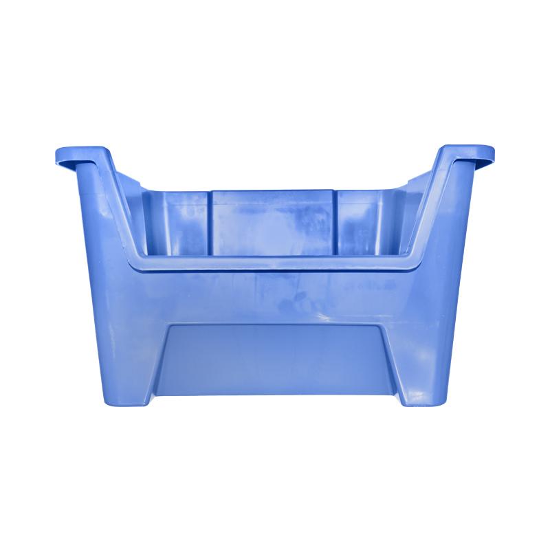 Cutie plastic depozitare 430x325x300mm albastra