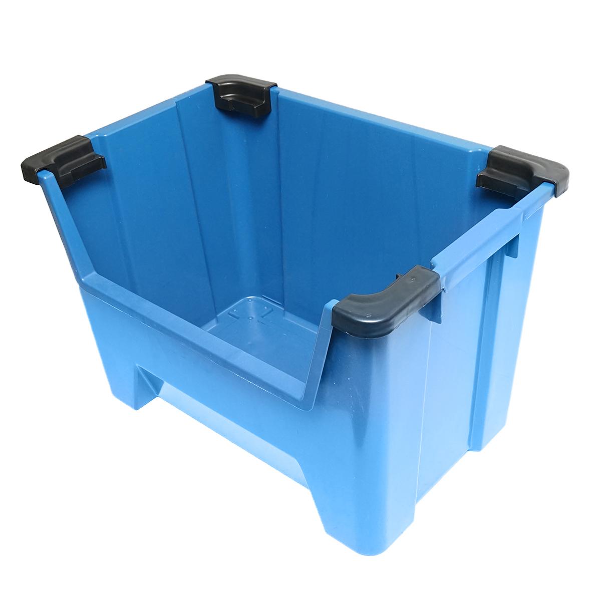 Cutie plastic depozitare 545x345x395mm gri