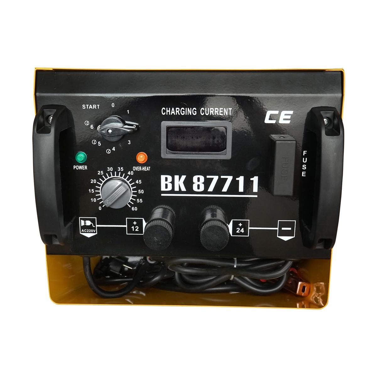 Robot pornire/Incarcator (redresor) baterie auto 12-24V 20-1000Ah 220V Breckner Germany