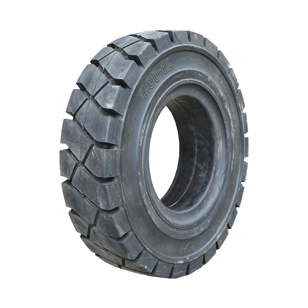 Anvelopa industriala 700/12 solida QH304 JT301