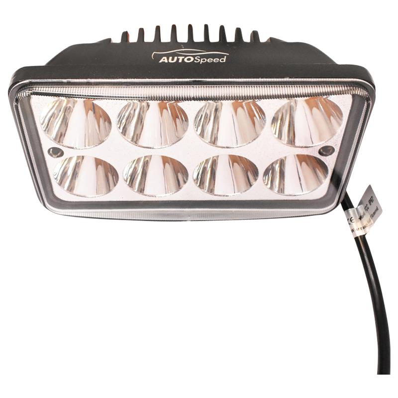 Lampa 8 LED-uri 10-30V 24W unghi de radiere 60