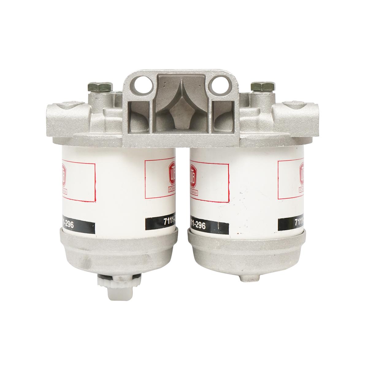 Baterie filtru motorina dubla 90 grade U-650